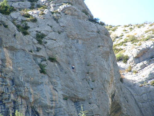 Rock Climbing Centre at Orpierre with more than 600 routes for all levels...